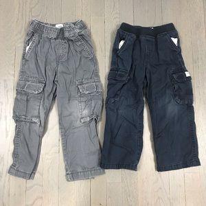 Children's Place Boys 4T Khaki Chino Cargo Pants